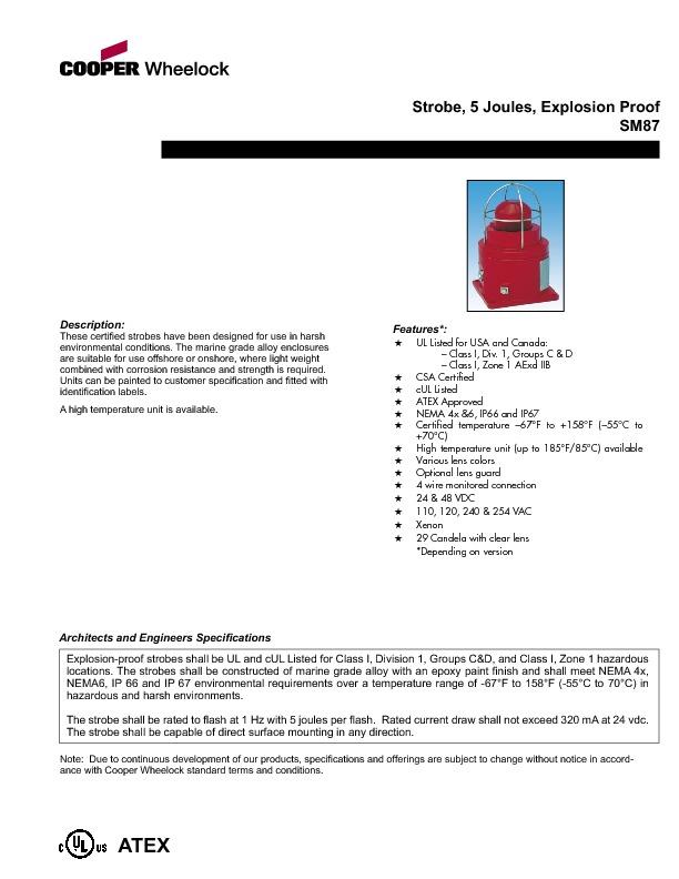 SM87HXNB spec.pdf