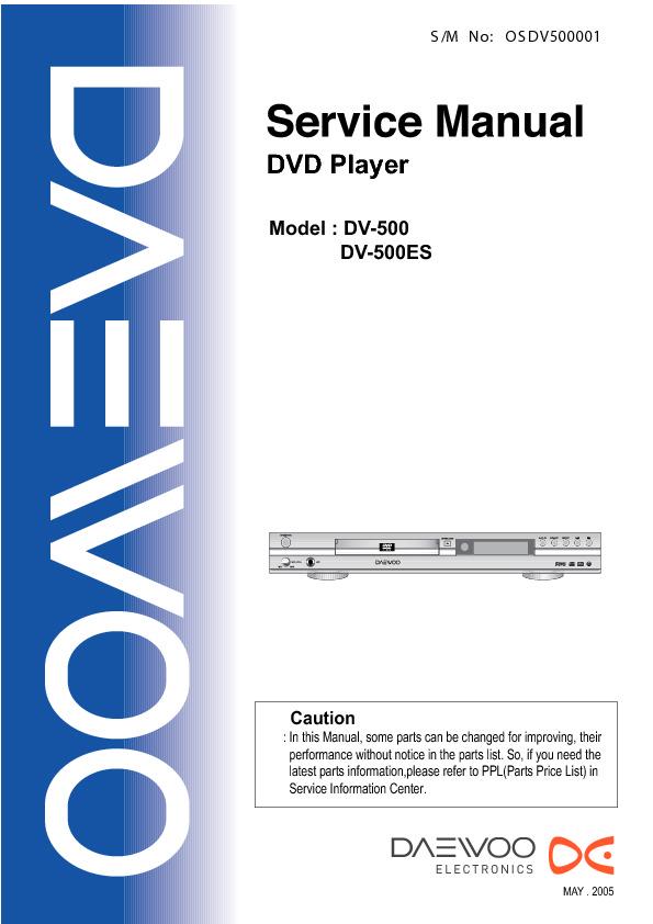 Schematic Diagram Daewoo Dv 115 Dvd Player