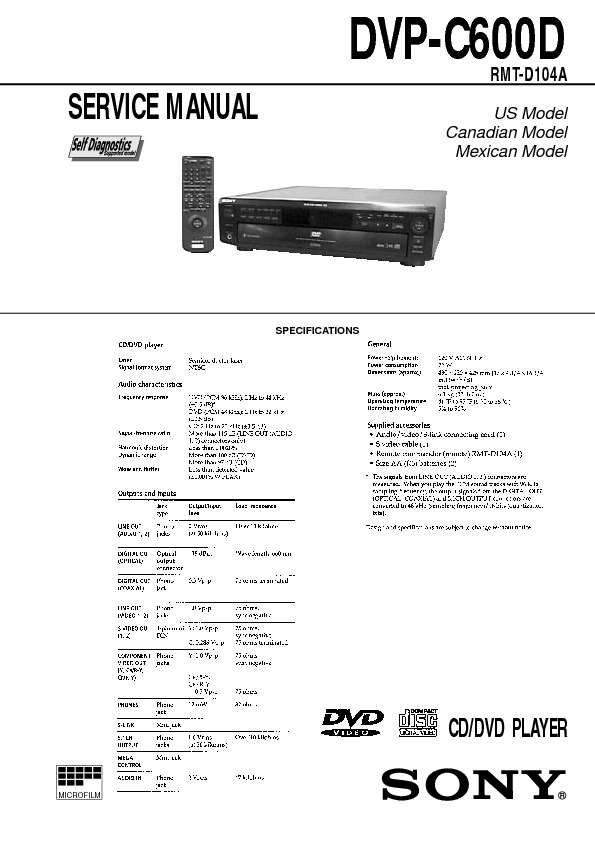 DVP-C600D sony DVD Player.pdf