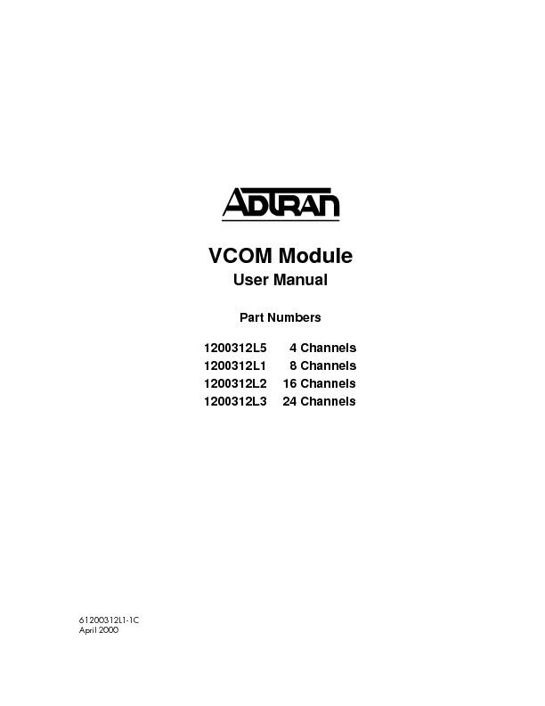 Adtran ATLAS 550 Voice Compression Module User Manual.pdf