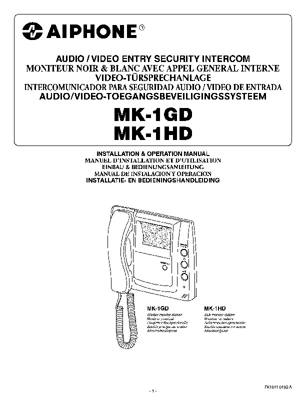 Aiphone MK-1GD and MK-1HD Door Sentry Instructions.pdf