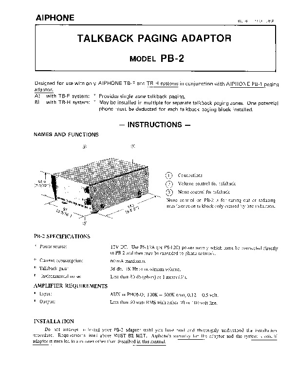 Aiphone PB-2 Instructions.pdf