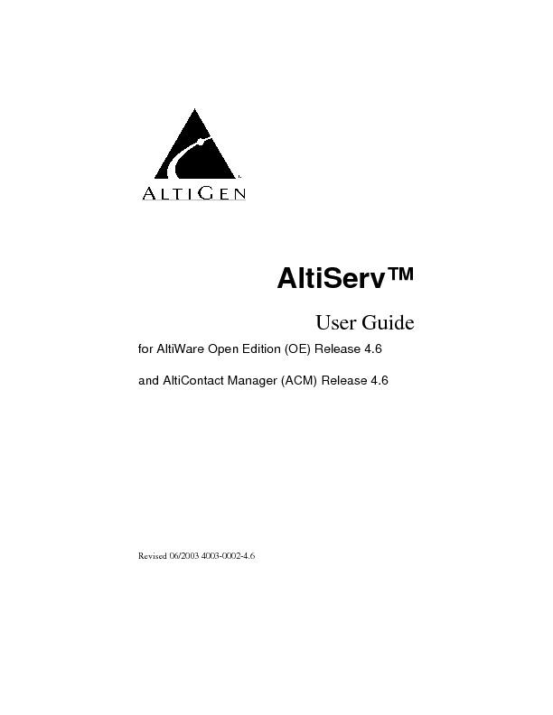 Altigen Aleen AltiServ User Guide.pdf
